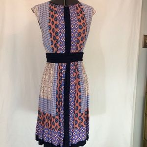 Boden Silk Dress Sz 10R
